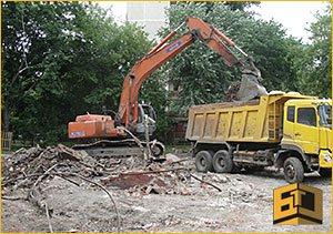 Демонтаж зданий цена