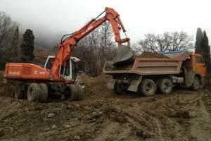 вывоз грунта со стройплощадок