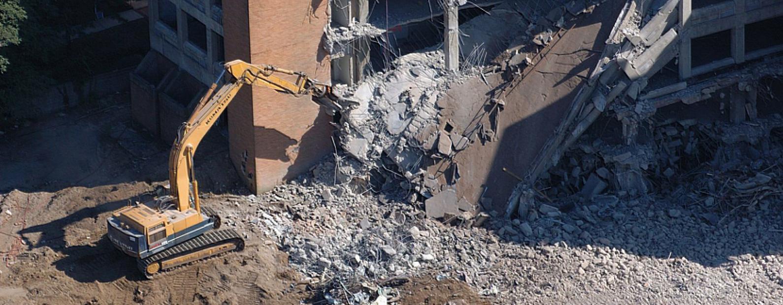 Демонтаж производственных зданий